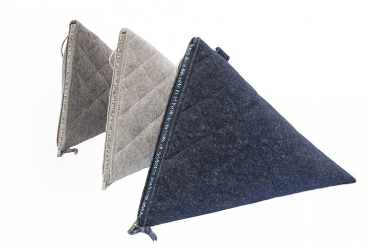 Bags in three different colours. Products made by BAGCYL. https://www.facebook.com/bagcyl