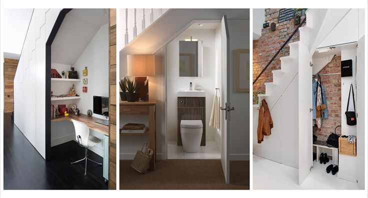 9 Brilliant Ideas For That Space Under the Stairs