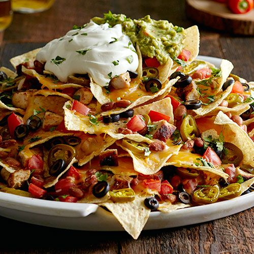 I cannot wait to make these!! Mile High Nachos - The Pampered Chef®