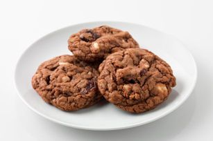 Chewy Chocolate-Cherry Cookies Recipe - Kraft Canada