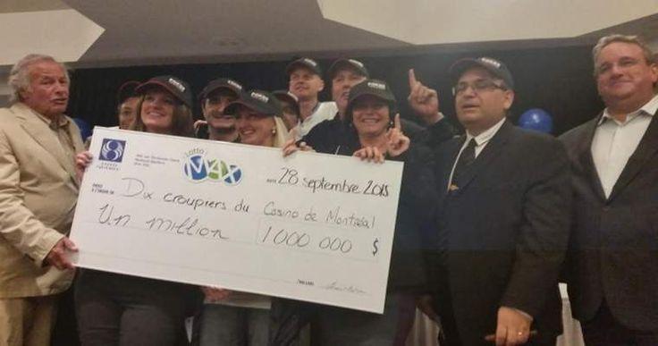 The Best Pot Split Ever – Poker Dealers Wins 1 million dollars in the lottery