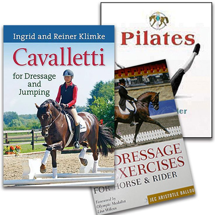 Dressage Exercises Book Package 65 Through Monday Nov 30th