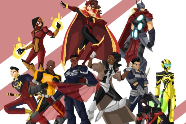 Supreme Avengers  http://whatculture.com/superheroes/25-coolest-superhero-redesigns?page=14