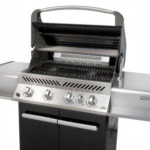 Seasoning cast iron grill on Napoleon BBQ