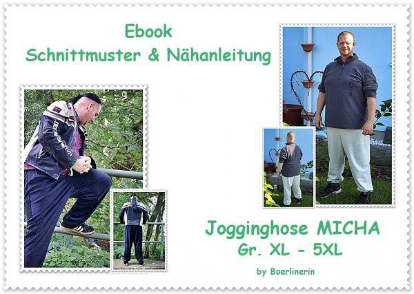 E-Book Jogginghose Micha Gr. XL-5XL