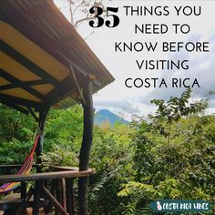 Costa Rica is an amazing country to travel in, but there are some things you should be aware of before visiting. Here are our tips so you can have an amazing vacation in paradise.