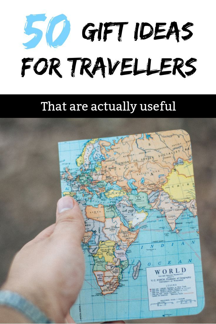847f8a2ea4 Best Gifts For Backpackers - 50 Unique Ideas To Inspire Wanderlust ...