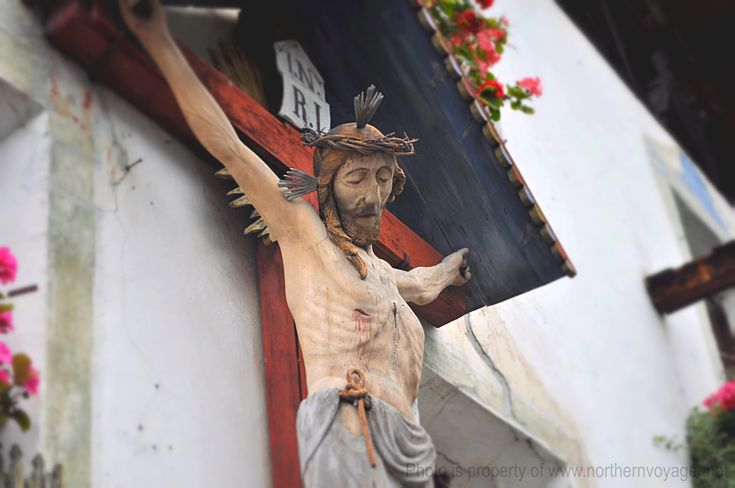 Val Senales Italy Village Jesus Crucifix Travel Photography South Tyrol Image Italian Religion www.northernvoyager.net  Photo by Lee Mailer