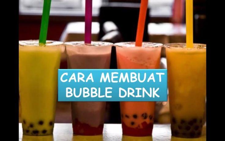 Cara Membuat Bubble Drink Sendiri #NyokMasak http://youtu ...