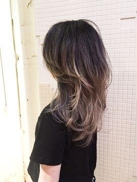 ハイレイヤー×グラデ☆ - 24時間いつでもWEB予約OK!ヘアスタイル10万点以上掲載!お気に入りの髪型、人気のヘアスタイルを探すならKirei Style[キレイスタイル]で。