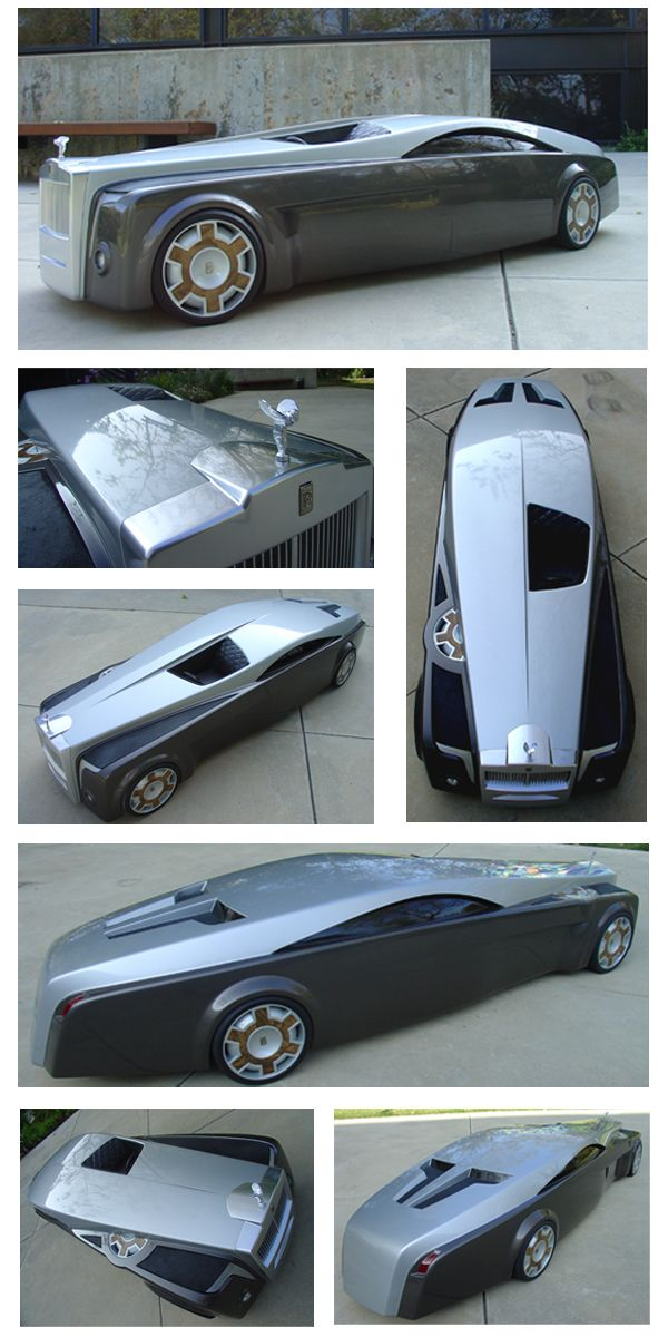Rolls Royce Apparition - An ultra luxurious chauffeur driven limousine evoking the glamor and sophistication of chauffeur driven cars in the past that has since been lost.  This vehicle is aboutbeing...