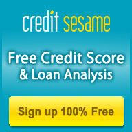 I just got my free credit score and personalized savings advice on my loan and debt from CreditSesame, a 100% truly free service to monitor your credit and save on debt.