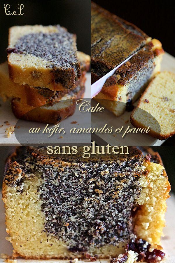 Cake super moelleux au kéfir, amandes et pavot (sans gluten) | Cuisine en scène - CotéMaison.fr
