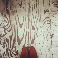 Distressed plywood floor How-to for painting Plywood floors