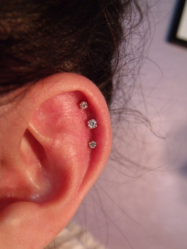 Triple ear piercing I think I may do this again