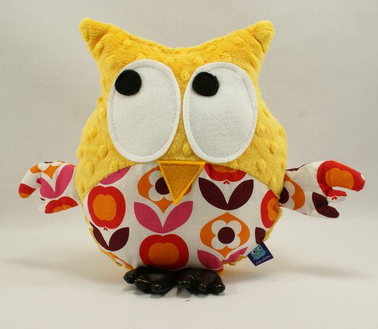 Little Sophie minky owl #littlesophie #owl #flowers #mango