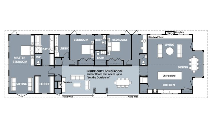 Functional Shotgun House Floor Plan Google Search Our