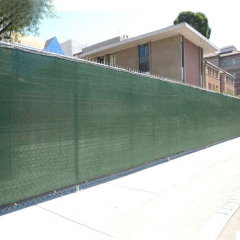 6' x 50' Fence Windscreen Privacy Screen Fabric Mesh Brass Grommets 6x50 Crosslinks is excited to offer this 6 foot tall x 50 feet long privacy screen. It's ideal for commercial and residential fences
