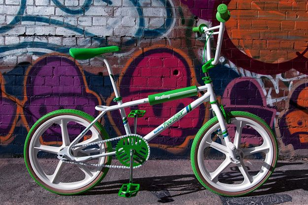 If you're like me and think BMX Bandits is still Nicole Kidman's best work, you'll also appreciate this Healing Freestyler. Healing was New Zealand's sister company to Australia's Malvern Star — manufacturer of virtually every Aussie's first bike and the bike that got Nicole's career rolling.