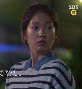 ep5 Park Shin Hye as Cha Eun Sang : 8seconds shirts [The Heirs]