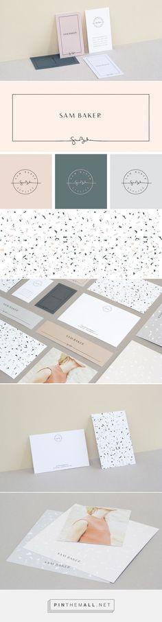 Sam Baker Branding by Kati Forner   Fivestar Branding – Design and Branding Agency & Inspiration Gallery                                                                                                                                                      More