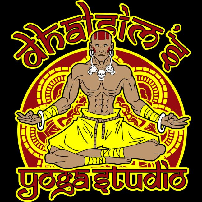 Dhalsim's yoga studio is a T Shirt designed by carloj1956 to illustrate your life and is available at Design By Humans