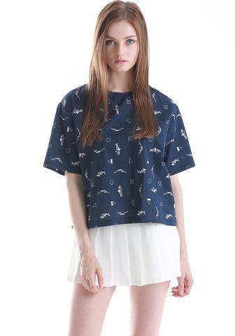FYVFYV Girl Printed Blouse @fyvfyv