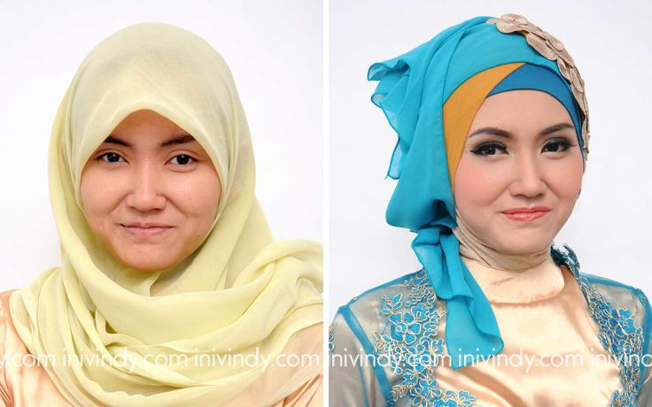 Ini Vindy Yang Ajaib: Before After Makeover : Wisuda Hijab Natural