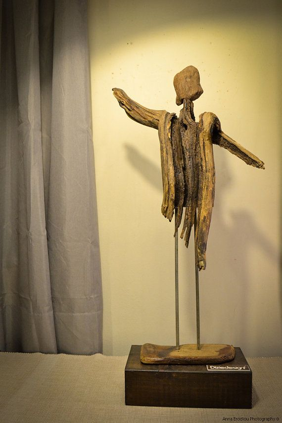 driftwood sculpture singing muse