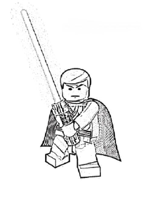 lego coloring pages star wars to