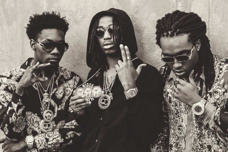 Captured. Migos from Atlanta #Quavo #Takeoff #Offset #rapper #celebrity
