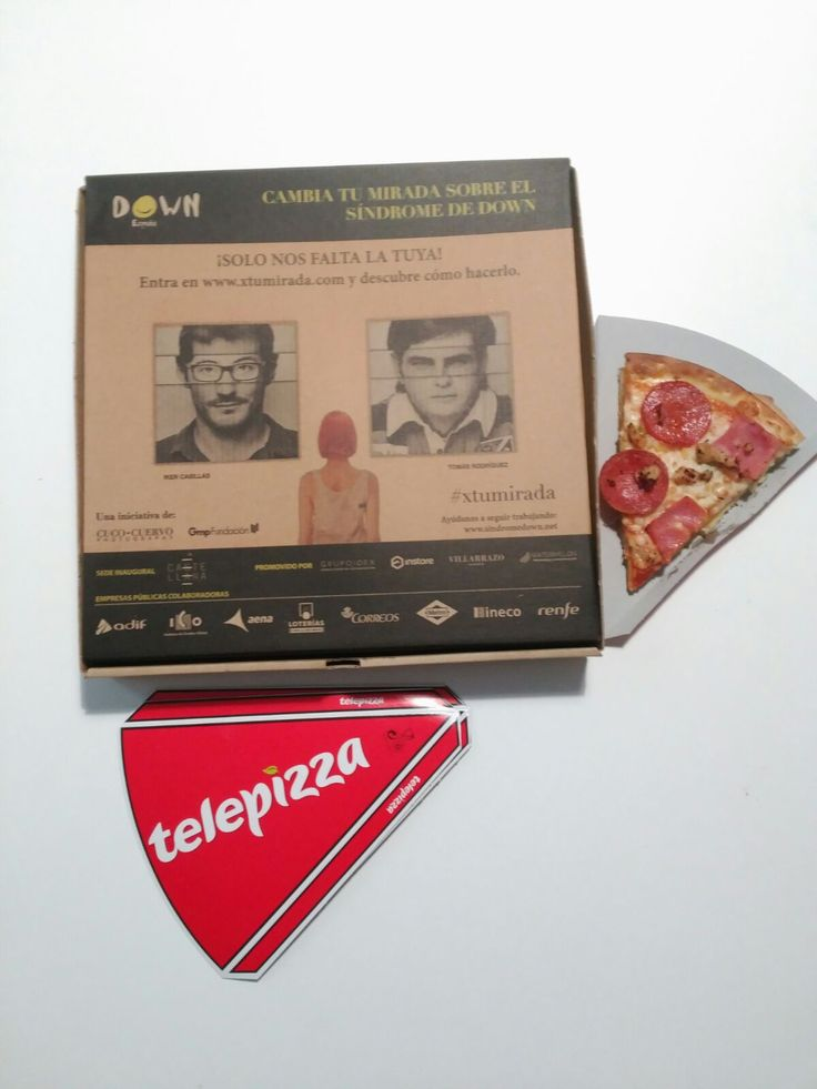 ¿Te has sumado ya a la #campañasolidaria #xtumirada? 👀 Nuestros amigos de Telepizza España 🍕, que ya nos acompañaron en la inauguración de la #exposiciónfotográfica 📸, han diseñado este #packaging tan especial...¿No os encanta?