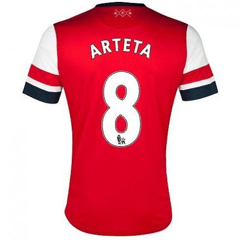 Arteta del Arsenal 2012/13 Camiseta fútbol baratas [421] - €16.87 : Camisetas de futbol baratas online!