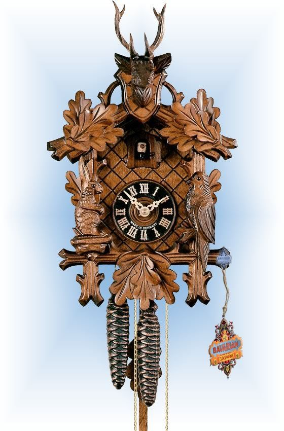 best traditional cuckoo clocks ideas cuckoo  traditional 1 day buck head 12 cuckoo clock by hones crazy definitiontraditional