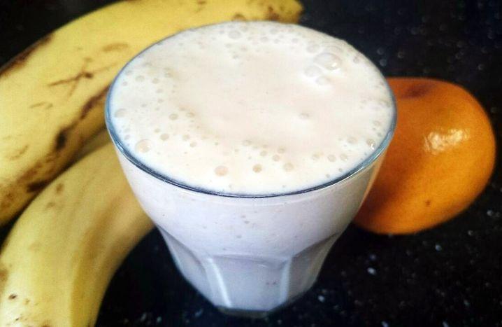 Mandarin Milkshake