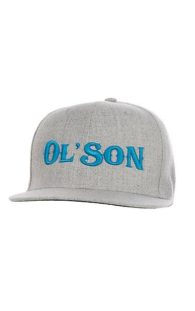 01a095b67c391e Rodeo Time Dale Brisby Heather Grey Ol' Son Snap Back Cap   Cavender's    Cowboy Hats & Caps in 2019   Country hats, Hats, Cowgirl hats