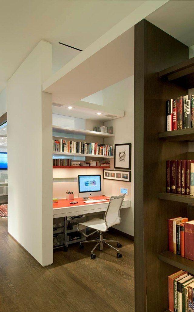 Die besten 25+ Hausbüro schlafzimmer Ideen auf Pinterest - hausliches arbeitszimmer gestalten einrichtungsideen