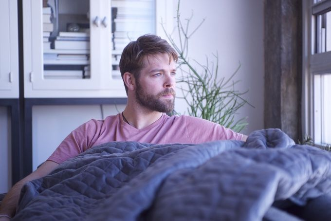 This Gravity Blanket Relieves Stress In Your Sleep