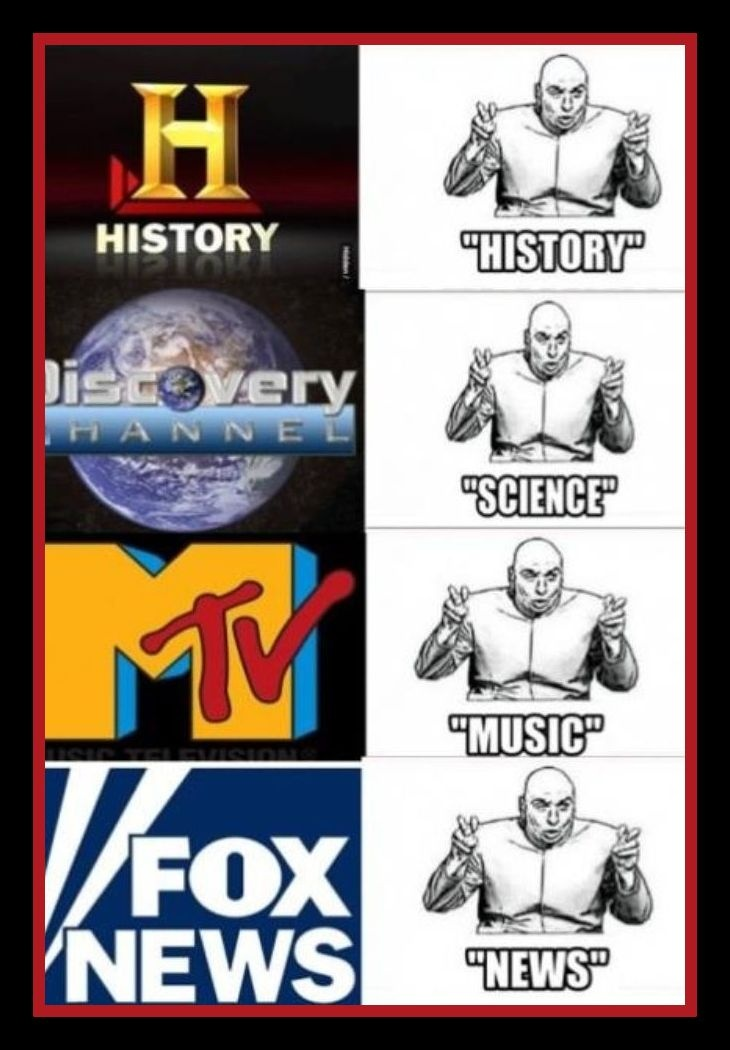 Oh, Fox News, you're so silly! ;)