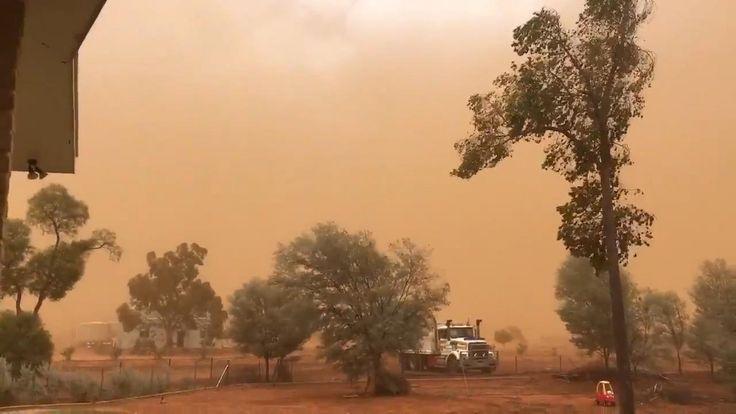 FOX NEWS: Dust storm covers Australia town in film of orange