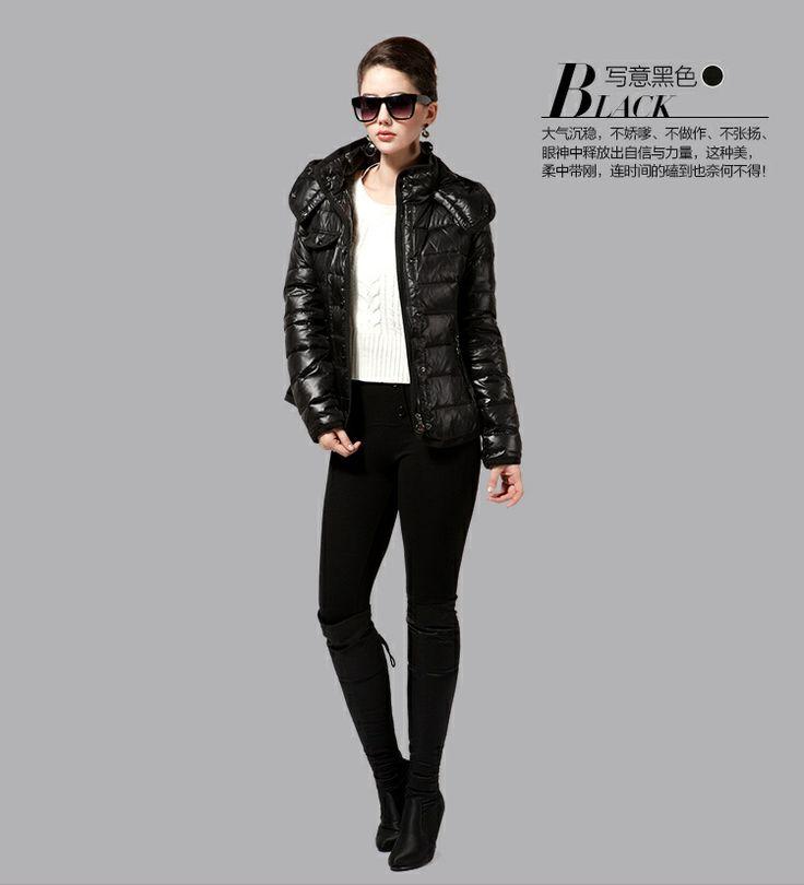 86 best fashion down jacket Women images on Pinterest   Down ...
