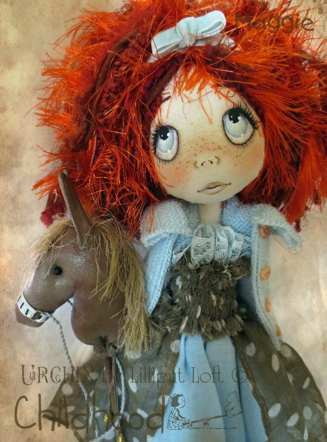 Maggie likes to be different. When their loving grandpa said he was going to make each of the girls their very own pull-along toy...Maggie asked for a hobby horse instead.