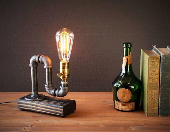Lumière déclairage  lampe Steampunk  lampe de Table