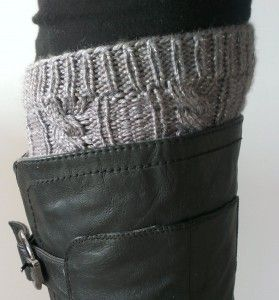 Boot Cuff & Leg Warmer. Free pattern available.
