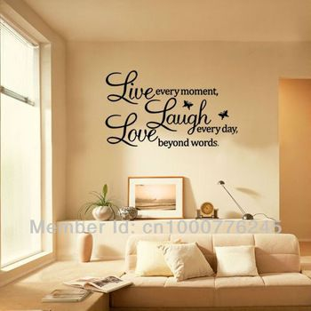 The Home Decor Plans Living Room Example, Show You How Extraordinary Plan  That Could Be · Diy Wall StickersWall ...
