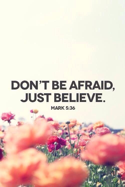 Marvelous Mark 5:36 November 6, 2014 Nice Look