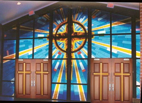 18 best church doors images on pinterest stained glass - Exterior church crosses for sale ...