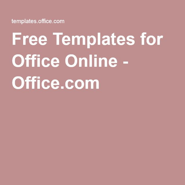 templates on office online