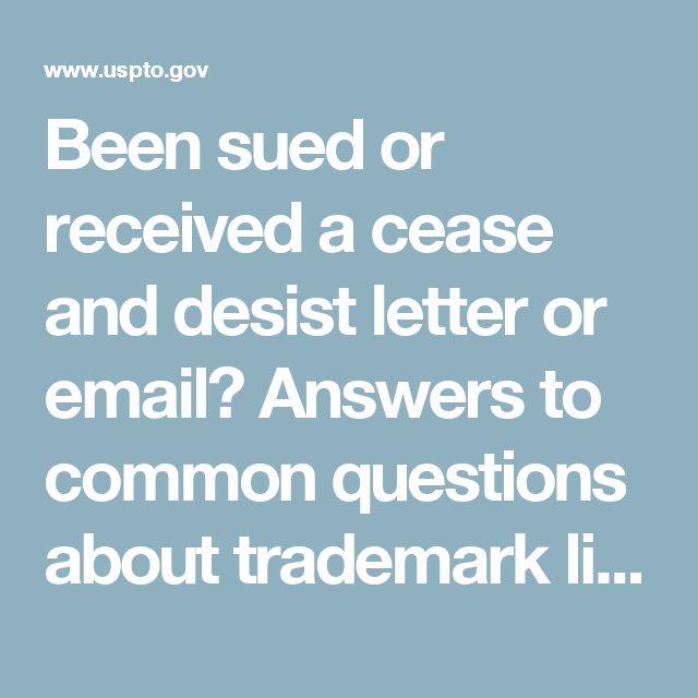 Cease and desist template trademark templatescharacterworldco