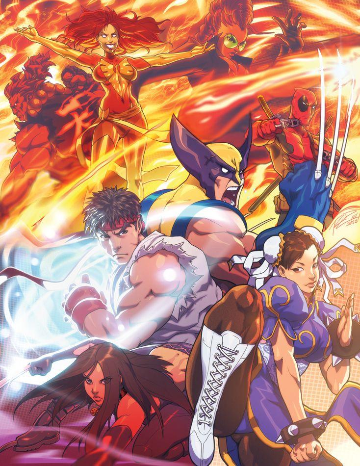 MvC Illostrayshun by Robaato.deviantart.com    Pocos juegos se quedan conmigo al paso de los años, y la saga de Marvel vs Capcom es uno de ellos.